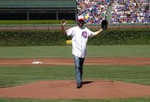 Celebs at Wrigley Field / Some of our favorite celebrities at Wrigley Field!