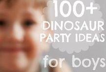 Dinosaur Party Ideas / Dinosaur themed party ideas