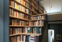 Library / Books, books and more books. Maybe a few shelves as well!