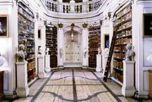 """Libraries...  Around the World /  """"The library is the temple of learning, and learning has liberated more people than all the wars in history.""""  Carl T. Rowan"""