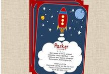 Space and Rocket Party Ideas / Ideas for hosting a spaceship or rocket themed birthday party