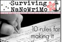 NaNoWriMo Before, During and After / National Novel Writing Month. I'll give hints, tips, snapshots of how I survived.