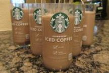 Starbucks Coffee Candles by OC / STOP! Don't throw away your Starbucks Iced Coffee bottles! I'll take them and re-purpose them into candles! Take a look at my recycling efforts. All candles are made of mocha-coffee scented soy. 100% natural, 100% recycled and made 100% in AMERICA!   / by Candles by OC