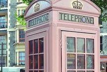 London Calling / London England Union Jack