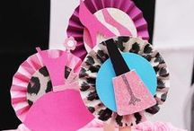 Fashionista Party Ideas / Fashion themed Party ideas from Cupcake Wishes & Birthday Dreams