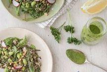 Food On Tap / Recipes and menu ideas -- vegetarian, vegan, gluten free (and... treats!)