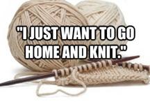 I Knit...