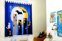 For the Home - Curtains for KIDS / home decoration, curtains, walls