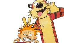 calvin and hobbes / by maddy stay away from me