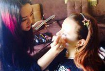 My makeup, my life / https://www.facebook.com/SarahWongBeautyArtistry / by Que Sera Sera