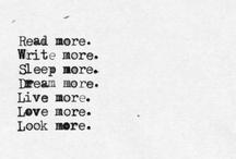 Write. Write. Write. / by Grace A