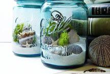 Ideas for Mason Jars / by Andrea Gentry