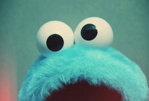 Cookie Monster :) / I kind of have an obsession with the Cookie Monster :)