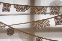   Mooi kant en band   lace / by Marian Kouw