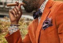 A masculine sense of style...