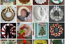 Wreaths / Making your door look welcoming, one wreath at a time!