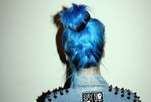 Colorful hair / by Grace A