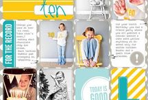 Scrapbooking/Templates / Memories are worth keeping and sharing.