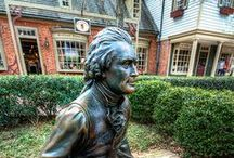 The 'Burg / We all know that there is no better college town than Williamsburg! / by William and Mary Alumni Association