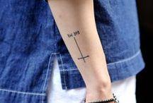 // tattoo inspiration // / Minimalistic, clean, small tattoo inspiration.