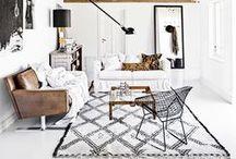 // minimalistic interior // / Clean, Scandinavian, minimalistic interior inspiration. Bedrooms, desks, living rooms.