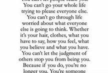 // words of wisdom //
