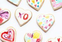 Valentine's day cookies // Biscuits  Saint-Valentin