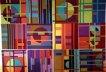 Quilt Envy / For ten years, I wrote about fiber arts for magazines in the United States and Australia. I also made many quilts in that time. I miss working with fabric, so for now, will Pin the quilts that interest me.