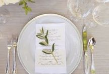 TABLE DECOR IDEAS / Our favorite selection of #tablesetting ideas for #weddings and #events