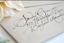 CALLIGRAPHY STYLES / Our favorite calligraphy styles