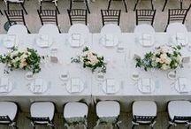 TABLESCAPES / Ideas for #weddingdecor #tablescapes