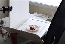 Food photography set / spunti per creare in casa dei set fotografici