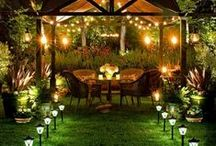 Outdoor landscape ideas / Thinking of new ideas for the backyard.