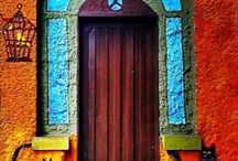 """Doorways / I like to collect pictures of doors. My company motto is """"Opening Doors for You."""" Here's where I look at different kinds of doors."""