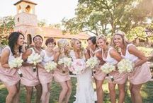 Bridesmaids: Camp Lucy / Having your favorite girlfriends, sisters and best friends with you on your big day is a fabulous blessing in a beautiful setting