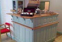 Cafe & Restaurants Interiors / Wnętrza wykonane i umeblowane przez Fabryka Mebli Profil