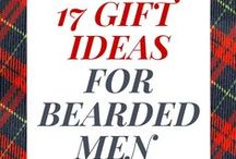 GIFT IDEAS FOR BEARDED MEN / A perfect collection of gift ideas and products for bearded men.