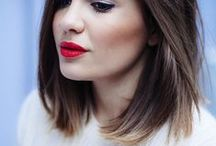 Hair Ideas / For whenever I get adventurous, and before I chicken out.  / by Annie Streater