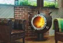 Unusual Stoves & Fireplaces From The Web / A collection of weird and wonderful fireplaces and stoves found online...