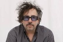 "Tim Burton / Timothy Walter ""Tim"" Burton (born August 25, 1958) is an American film director, film producer, writer, artist and animator. He is famous for his dark, gothic, macabre and quirky take on horror and fantasy style movies such as Beetlejuice, Edward Scissorhands and The Nightmare Before Christmas. / by Vicki Remtulla"