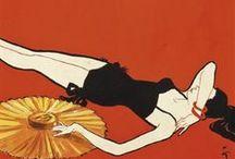 ~vintage posters, ads, illustrations~