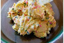 Cake Batter and Sprinkles
