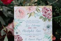 Stationery - Wedding Invitation -