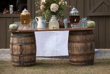 Rustic Wedding Theme / Chic but casual theme for rehearsal dinners or wedding receptions. Inspired by mason jars, outdoors, boots, and hay bales. / by The Polka Dot Press