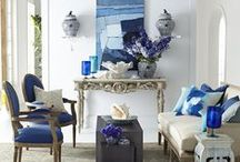 Color Palette: Cool Blues / by Wisteria