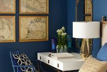 Color Palette: Navy and Gold / by Wisteria