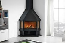 """Corner Stoves / Do you have an unused corner in your home? Why not fill that corner with a woodburner stove from our """"Corner Stove Collection"""" - http://www.fireplaceproducts.co.uk/stoves/corner-stoves"""
