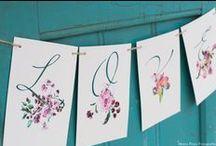 Wedding seating plan by *Cristina Maser*