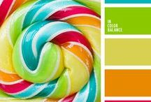 inspiring colour palettes