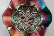 Depression, Carnival Glass / Depression glass or Carnival Glass on this Board only, enjoy. PLEASE RE-PIN the items you like.